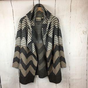 Anthropologie Field Flower | Sweater Coat